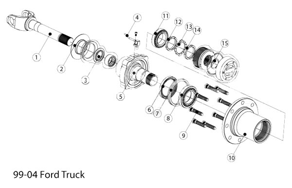 01 F350 Front Axle Schematic Guide And Troubleshooting Of Wiring