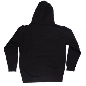 Poly Performance Pull Over Hoodie, Black