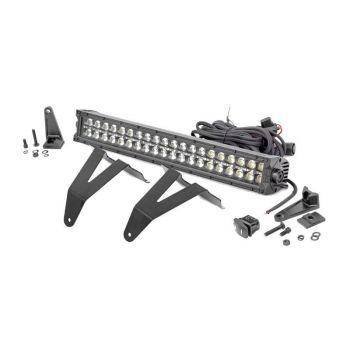 Rough Country 2019+ RAM 1500 20-Inch Black Series DRL Hidden Bumper Kit