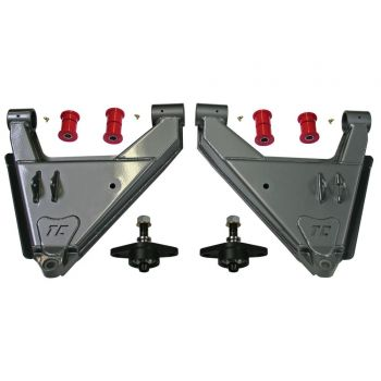 Total Chaos Stock Uniball Lower Control Arms Dual Shock Capable for 05+ Tacoma, 07-09 FJ, 03-09 4Runner, 03-09 Lexus GX 470