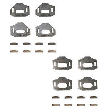 Total Chaos Lower Control Arm CAM Tab Gussets for 10+ 4Runner