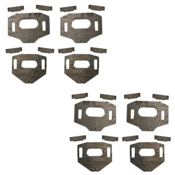 Total Chaos Lower Control Arm Cam Tab Gussets for 07-18 Tundra