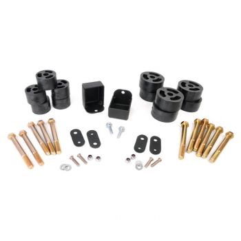 Rough Country 1.25-inch Body Lift Kit for 87-95 Wrangler YJ (Manual Trans)