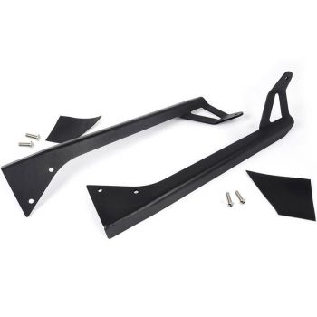 Rough Country Jeep YJ 50-inch Straight LED Light Bar Upper Windshield Mounting Brackets