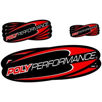 Poly Performance Sticker 10pk