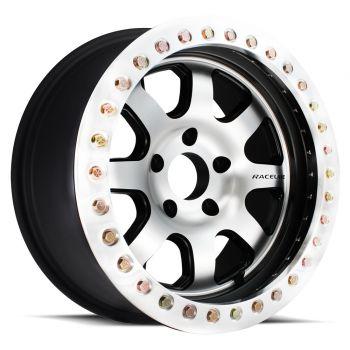 Raceline RT260-AL Avenger Aluminum Beadlock Wheel with Aluminum Ring