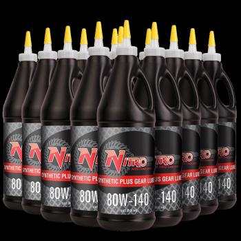 80W-140 Nitro Synthetic Plus Gear Oil, GL5
