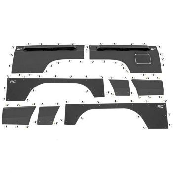 Rough Country 97-01 Jeep Cherokee XJ Quarter Panel Armor