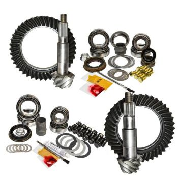 Nitro Gear & Axle Front & Rear Gear Package Kit for 07+ Jeep JK (Non-Rubicon)