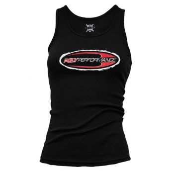 Poly Performance Ladies Logo Tank