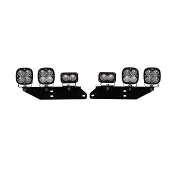 Baja Designs Jeep, Squadron-R (Pro & Sport), LED JK Fog Pocket Kit