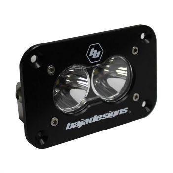 Baja Designs S2 Sport LED Light, Flush Mount