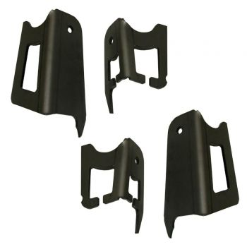 Total Chaos Weld-on Upper Coil Bucket Tower Gussets for 2000-2006 Toyota Tundra 2WD / 4WD