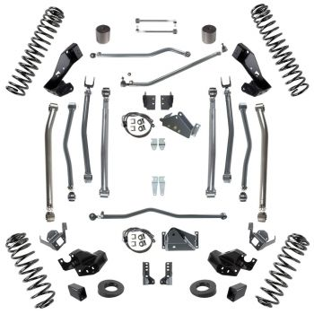 Synergy Jeep JK Stage 4 Long Arm Suspension System, 6.0