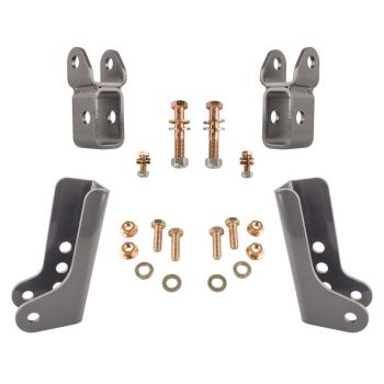 Synergy Jeep JL Lower Shock Relocation Brackets