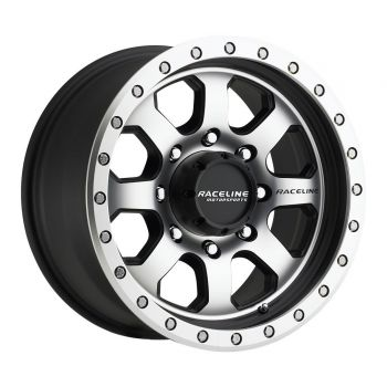 Raceline Wheels 929M-SL 17 x 9 Avenger Simulated Beadlocks