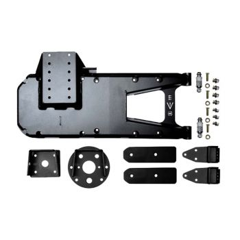 EVO MFG HD Hinge Tire Carrier for Jeep JL 2018+