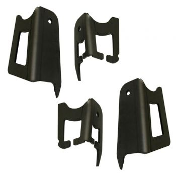 Total Chaos Coil Bucket Tower Gusset for 05-15 Tacoma Prerunner/4WD (Pair)