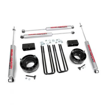Rough Country 2.5-inch Suspension Leveling Lift Kit for Dodge 94-01 Ram 1500 4WD
