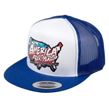 Poly Performance America F*ck Yeah Trucker Hat