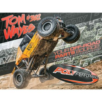 Poly Performance Tom Wayes #321 Poster