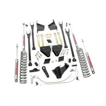 Rough Country 6in Ford F-250 Super Duty 4WD 4-Link Suspension Lift Kit (Diesel)