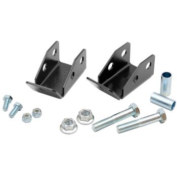 Rough Country 97-06 Jeep TJ Rear Shock Relocation Kit