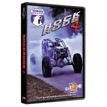 Busted Knuckle Films Rock Rods 4 (DVD)