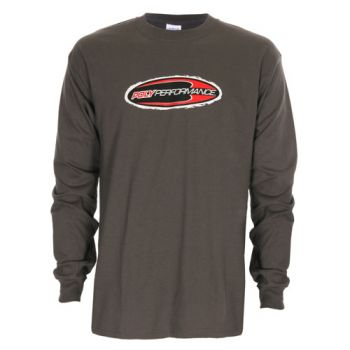 Poly Performance Long Sleeve Tee - Gray