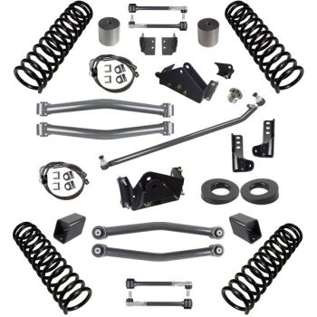 Synergy Jeep JK Stage 2 Suspension System, 3
