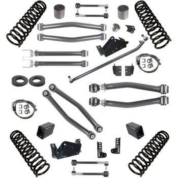Synergy Jeep JK Stage 3 Suspension System, 3