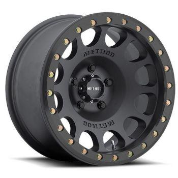 Method MR105 Matte Black Beadlock Wheel