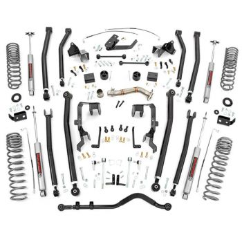 "Rough Country 4"" Jeep JK Unlimited Long Arm Lift Kit"