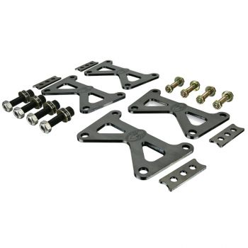 Spidertrax Double Shear Rear Caliper Brackets (14