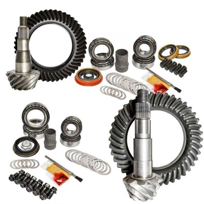 Nitro Gear & Axle Front & Rear Gear Package Kit for 03-12 Dodge Ram