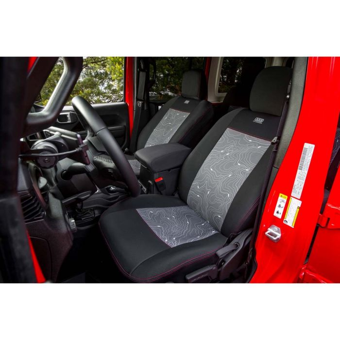 Jeep Wrangler Seats >> Arb Seat Skin Seat Covers For Jeep Wrangler Jl Sport 4 Door With