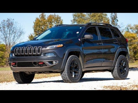 Rough Country 2IN Jeep Lift Kit (14-19 Cherokee KL) | POLY