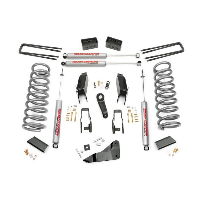 Rough Country 5 Inch Suspension Lift Kit: Rough Country 5-inch Suspension Lift Kit