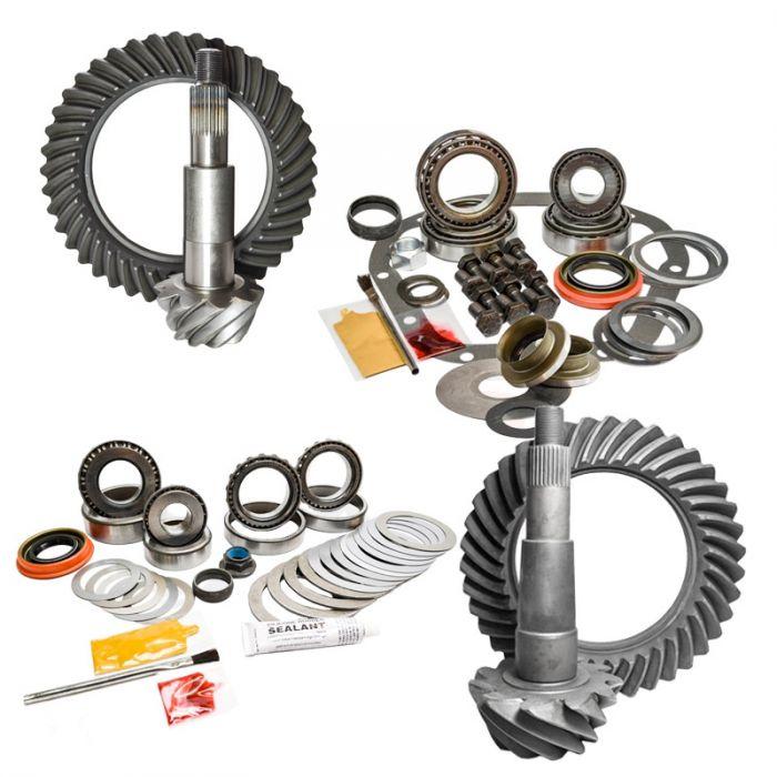 Nitro Gear & Axle Front & Rear Gear Package Kit for 02-10