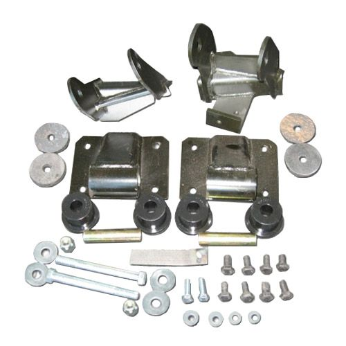 Advance Adapters Weld In Engine Mount Kit For Chevy Lt1: Advance Adapters GM Gen III Vortec Engine Into Jeep TJ W