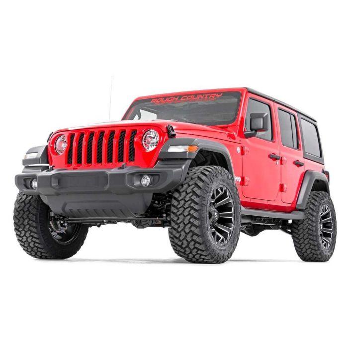 Jeep Wrangler Lift Kit >> Rough Country 2 5 Lift Kit For 2018 Jeep Wrangler Jl Poly
