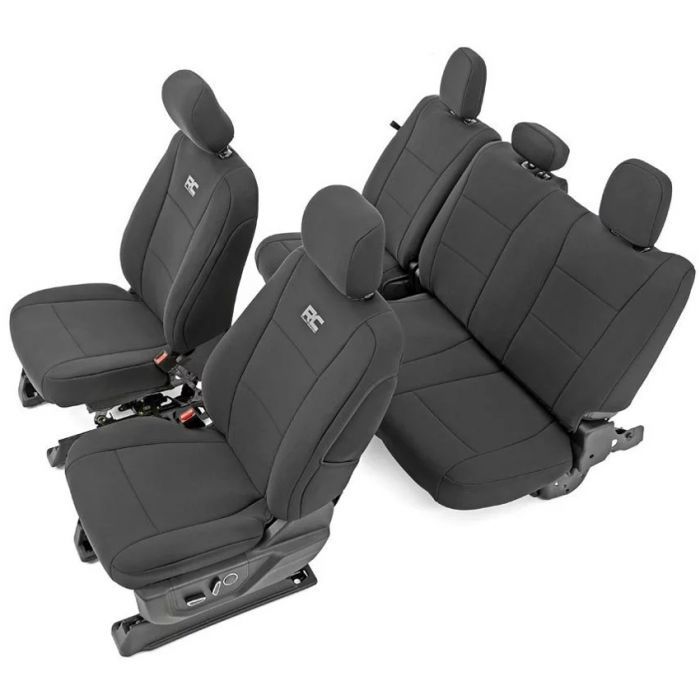 Rough Country 13 18 Ford F150 Xl Xlt Seat Covers Poly
