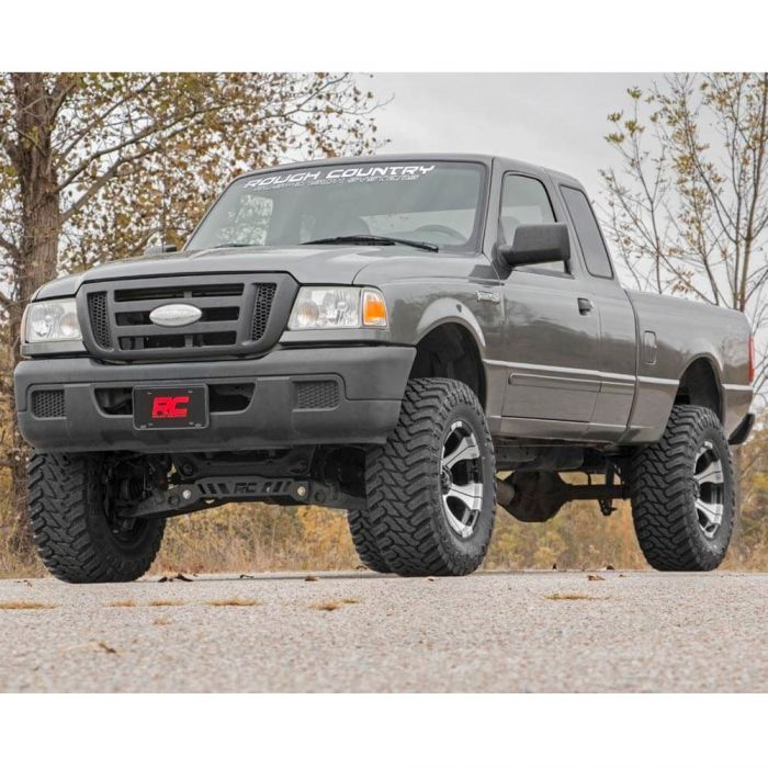 Rough Country 98 11 Ford Ranger 4wd 5 Lift Kit Poly Performance