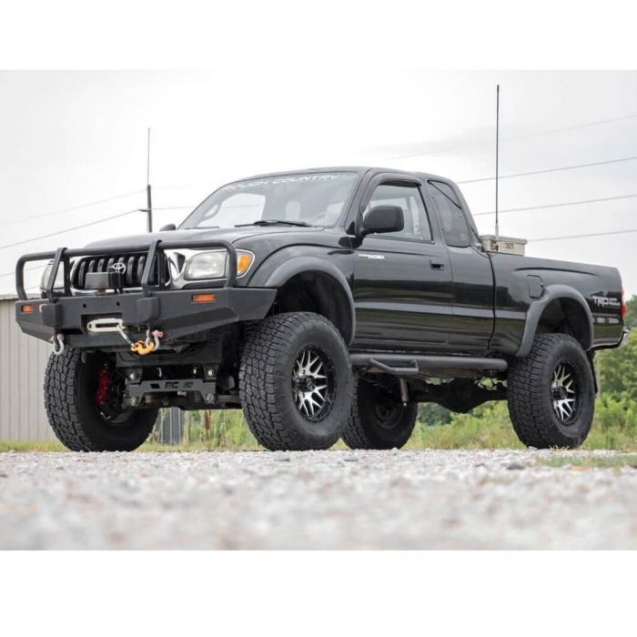 04 Tacoma Lifted >> Rough Country 95 04 Toyota Tacoma 6 Lift Kit Poly Performance