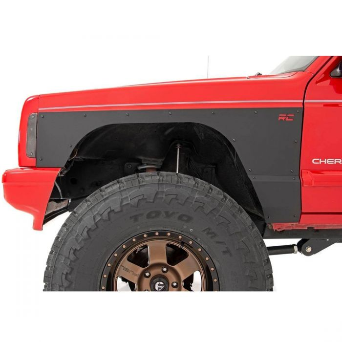 Rough Country 84-01 Jeep Cherokee XJ Quarter Panel Armor